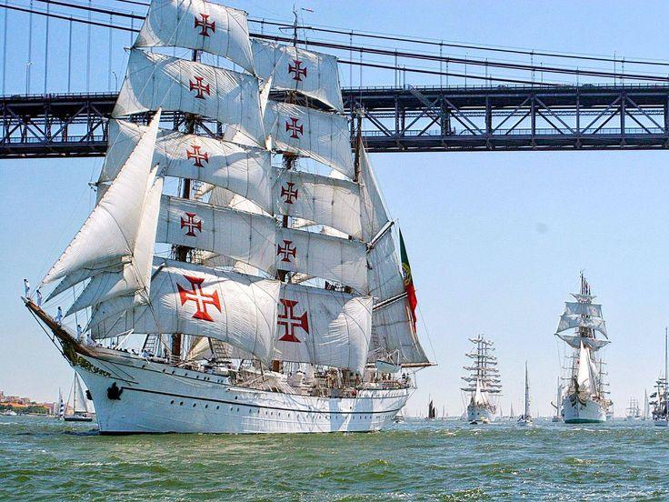 É o navio mais bonito do mundo e é português. Falamos do Navio Escola Sagres. Descubra a sua história.