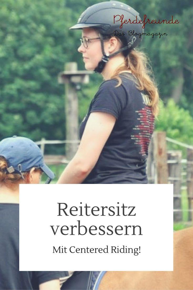 """Reitersitz verbessern mit Centered Riding und der """"Kugel"""""""