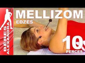 Béres Alexandra torna ||  Mellizom edzés || 10 perc - YouTube