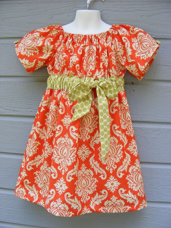 Check out this adorable peasant dress from creativebee706 on Etsy on sale for $22!