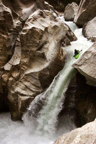 Nature's water slide anyone?