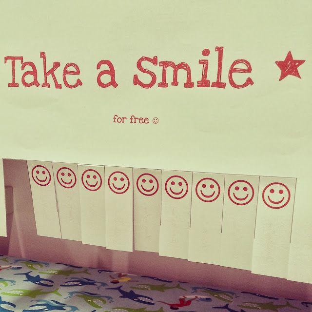 take a smile ... lächle mal wieder ...