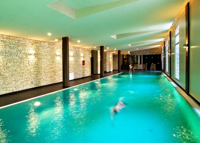 Swimming pool in Anna Grand Hotel**** Wine & Vital Balatonfüred http://annagrandhotel.hu/wellness-kueloenleges-eleterzes.html