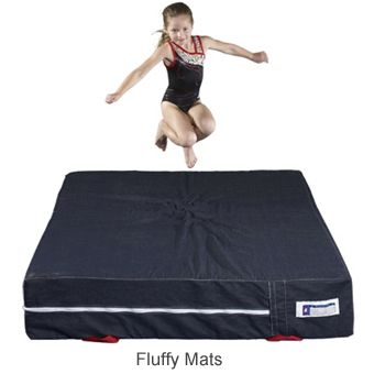"""Cushion Gymnastics Mats-Pick the perfect thickness for your program! Our 4"""" Skill Cushions are built for toddler and preschool rooms where just a little extra protection is needed. Our 8"""" mats are the workhorse of most gymnastics and tumbling programs. Try our 12"""" mats where extra protection is desired. All 8"""" and 12"""" Skill Cushions have Breather Mesh sides and feature double stitched top surfaces. www.greatmats.com"""