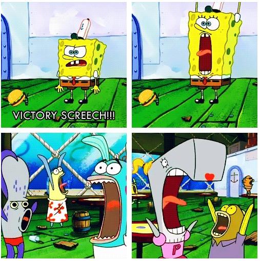 Spongebob Squarepants Victory Screech Life of A Scien...