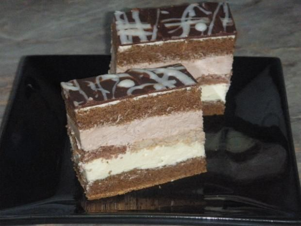 Bieločokoládový rozmar, recepty, Zákusky | Tortyodmamy.sk