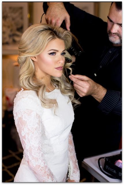 Dancing With The Stars Witney Carson's Wedding Hair Get The Look!