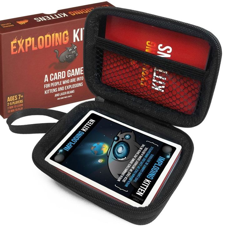 Exploding Kittens CASE Explosions and Sometimes Goats Card Game Christmas Gift  BUY THIS ON EBAY NOW  BUY THIS ON EBAY NOW  Item specifics  Condition:  New: A brand-new unused unopened undamaged item (including handmade items). See the seller's  Color:  Does Not Apply  Tax:  No tax  Manufacturer:  FitSand  shipping:  Free_shipping  Model:  Does Not Apply  Return Policy:  30-Day  Brand:  FitSand  Item located:  USA  UPC:  614134822232  Handling Time:  3-Day  ISBN:  Does not apply  Character…