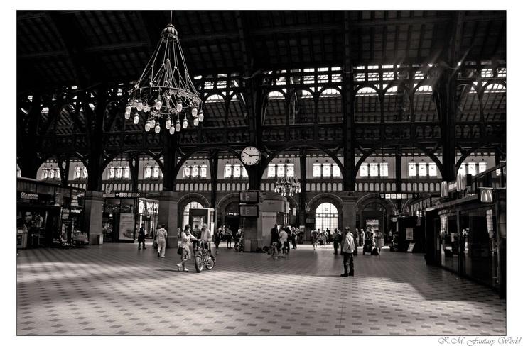 Central Station in Copenhagen