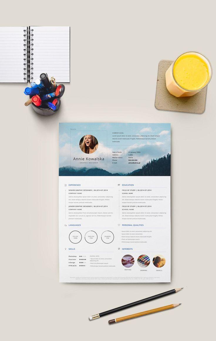 Free resume to download and edit._Darmowe CV do ściągnięcia i edycji.