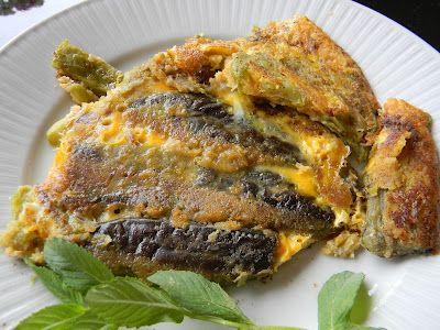Mısır Unlu Patlıcan Ve Taze Fasulye Kızartması.. ~ Vişnap