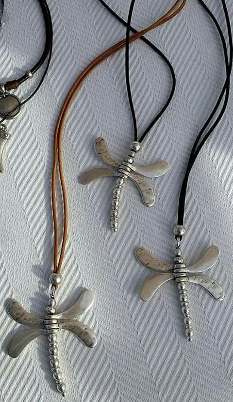 Colgantes libelula