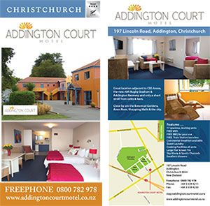 Addington Court Rack Card Design