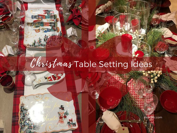 3 Easy Home Decoration Tips For Your Christmas Table Settings