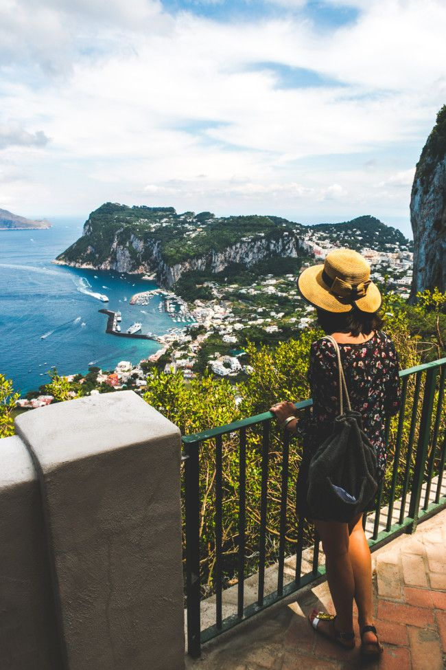 Photo Diary: Capri, Italy // Tourism & A Tiny Bird • The Overseas Escape