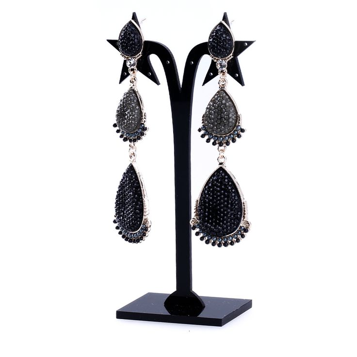 Find More Drop Earrings Information about Zenper 2017 fashion brincos pendientes DIY women long tassel drop earrings accessories punk style alloy long earrings for women,High Quality accessories holder,China earrings bronze Suppliers, Cheap earring display stands wholesale from Yiwu zenper accessories crafts co.,ltd  on Aliexpress.com