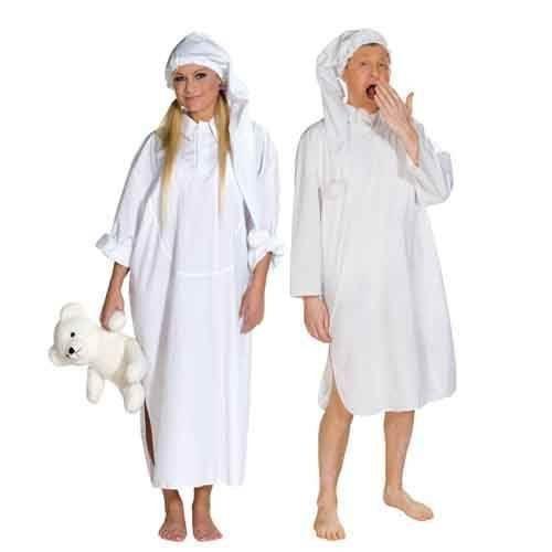 Kostüm Nachthemd Nachthemdkostüm Schlafkostüm Gr. L, M, S, XL, XXL, Größe:XL