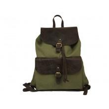 O My Bag Woody Back Packer Green