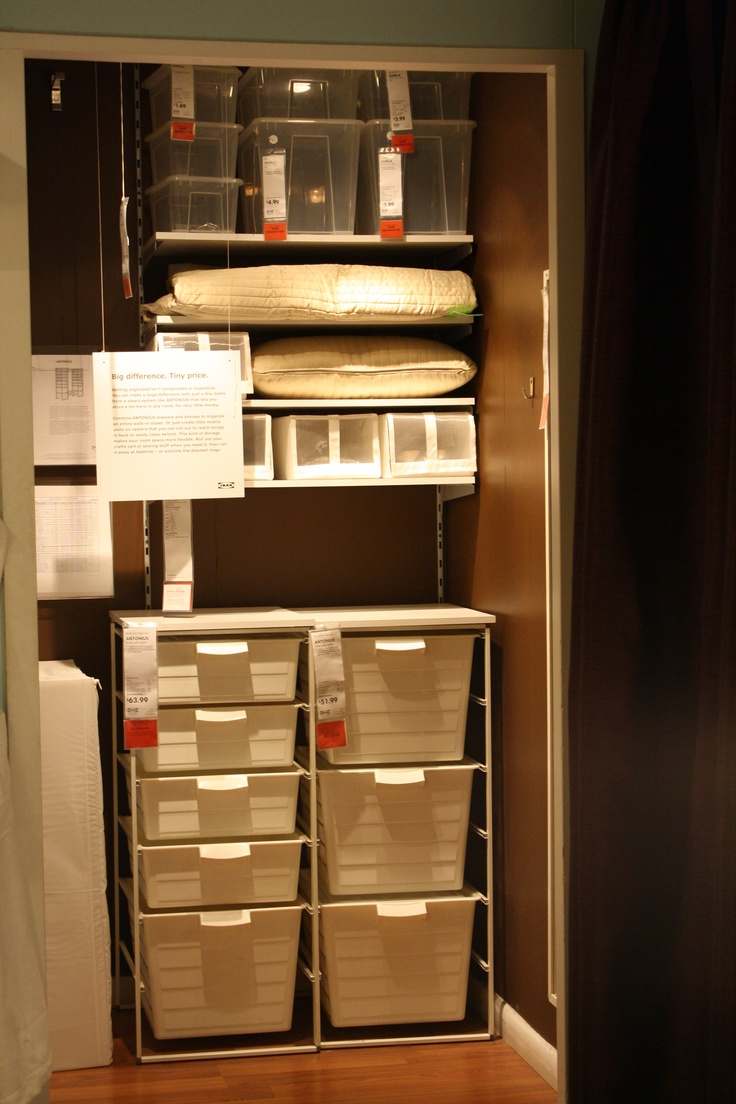 Closet Organization Ikea Pinterest