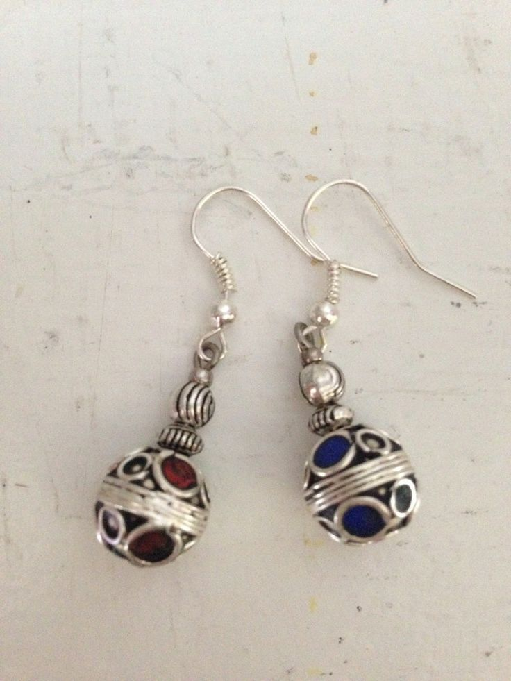 Handmade in Morocco in an ethically and environmentally friendly manner. Deco Earrings are $22.95 + tax Canadian. Free S&H oneearthbydanielle@hotmail.com