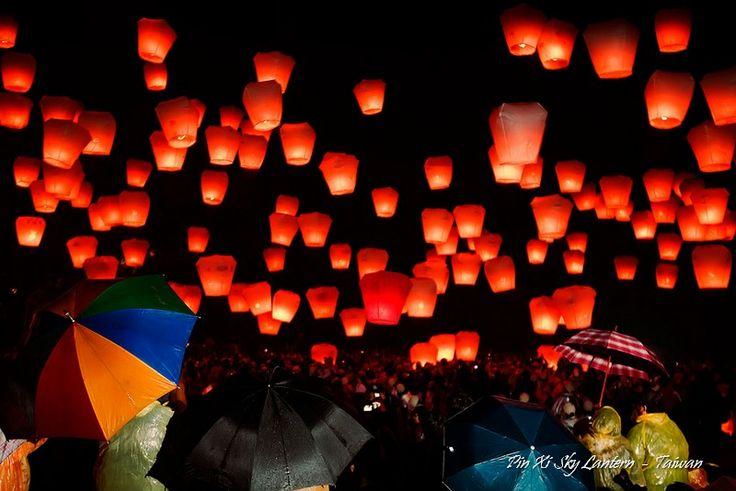 Ping Xi Sky Lantern