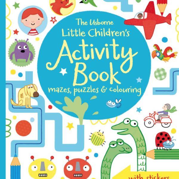 Libro de actividades en inglés - Activity Book for Little Children