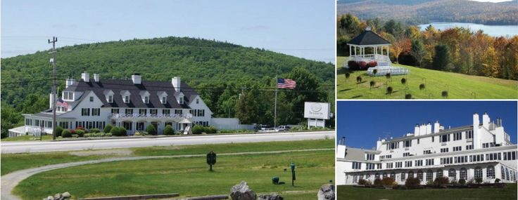 Beautiful Views, and amazing food! Lucerne Inn: Dedham, ME ...