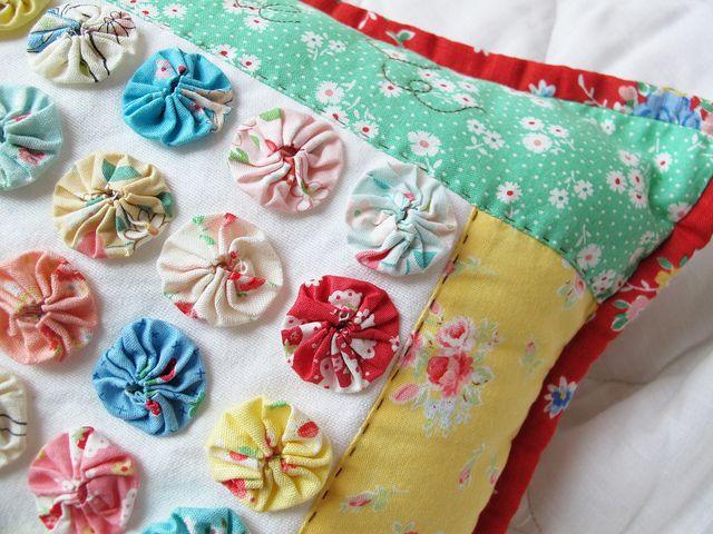 yoyo pillow by zakkaart... so cute