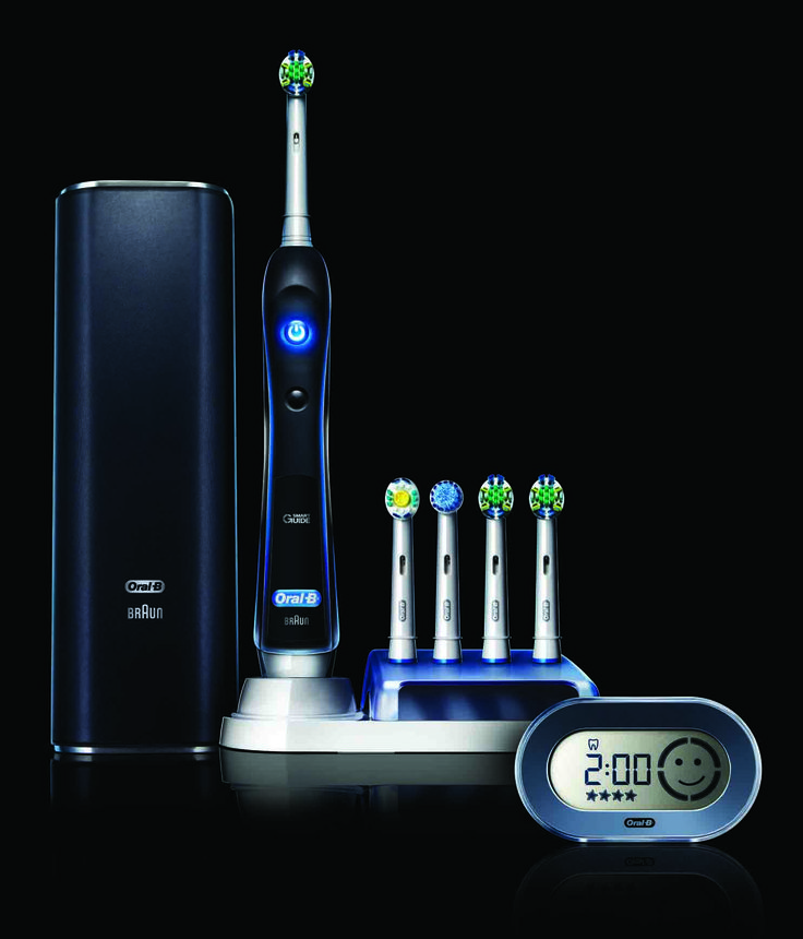The Oral-B® Black 7000 Electric Toothbrush uses the SmartGuide wireless display to provide feedback while you brush, guiding you through a thorough, yet gentle two-minute brushing experience, as recommended by dentists. Receive $7 off when you click this pin!