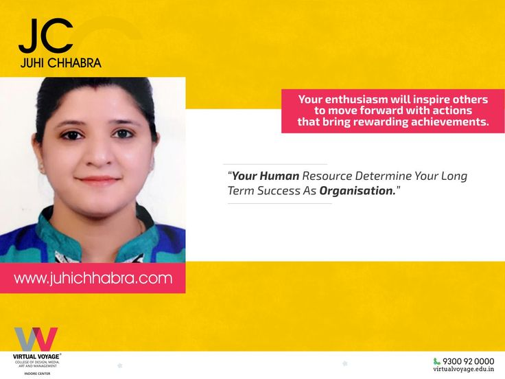 It is literally true that you can succeed best and quickest by helping others to succeed. Hence, as token of Love, Respect and Value... We are gifting our beloved team members, their own individual website. Heartily Congratulations to our Respected Her Delightful Smile & Brilliant People's Skill help us in keeping up the Happiness Quotient of the organisation. Head of HR who is Loved by all human resource of the organisation! Heartily Congratulations to Juhi Chhabra Ma'am ( juhichhabra.com )