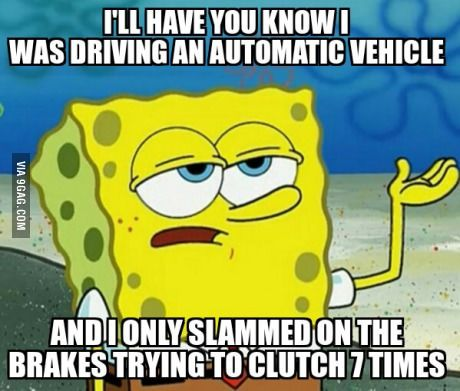 People who drive manual transmission vehicles will understand.