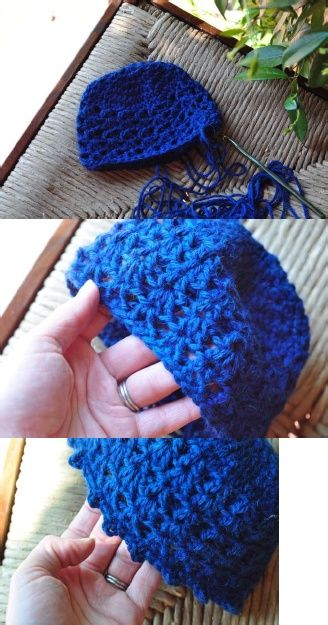 Picot and Lace Baby Cloche Crochet Pattern www.aestheticnest Newborn -24  months 643e85af879