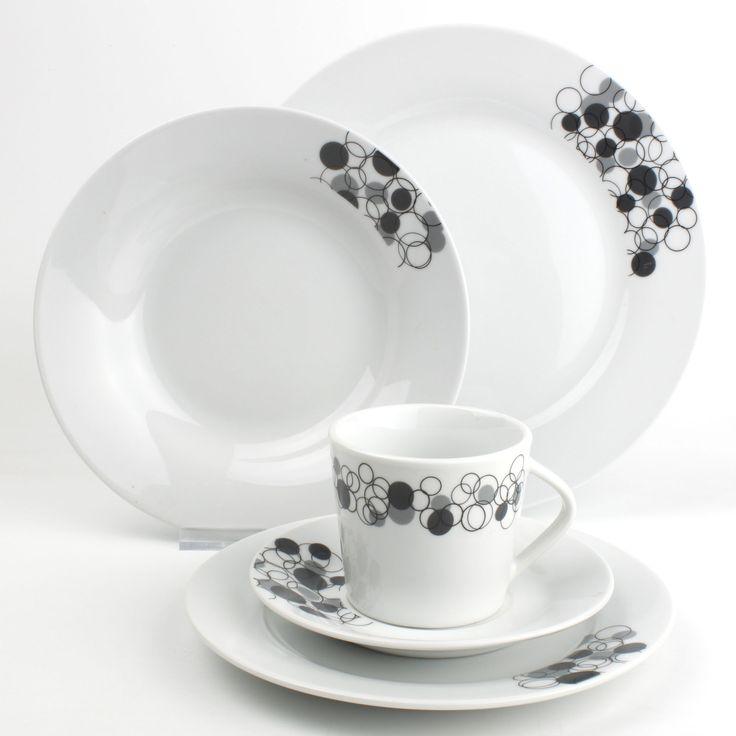 17 meilleures images propos de black white sur pinterest baroqu - Service vaisselle original ...