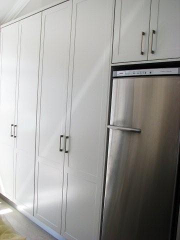 kitchen full cupboards