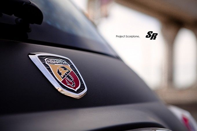 """Project Scorpione"" Fiat 500 Abarth by SR Auto."