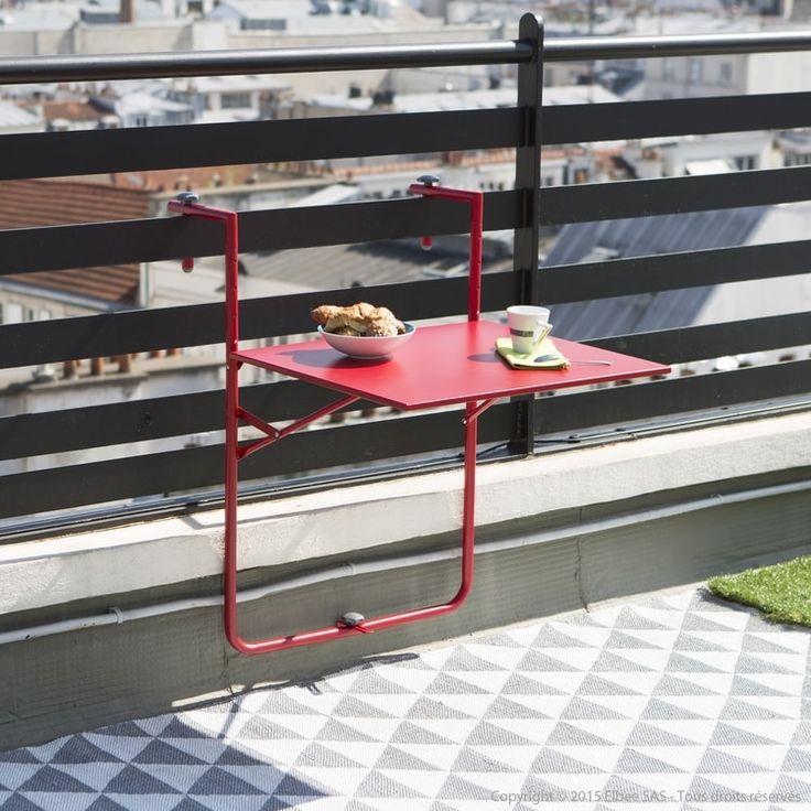 Table de balcon pliante de Squareline