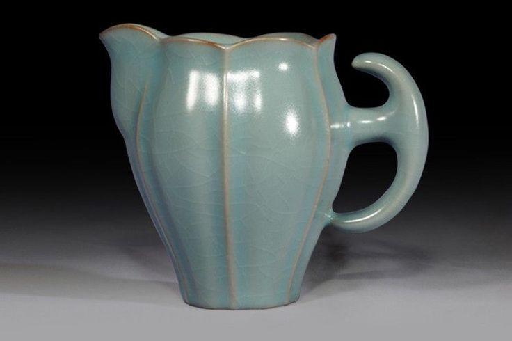 RP:  Chinese Ru Kiln Ceramic Ware Gongdao Cup Fair Cup KungFu Tea Set Accessory   - ebay.com