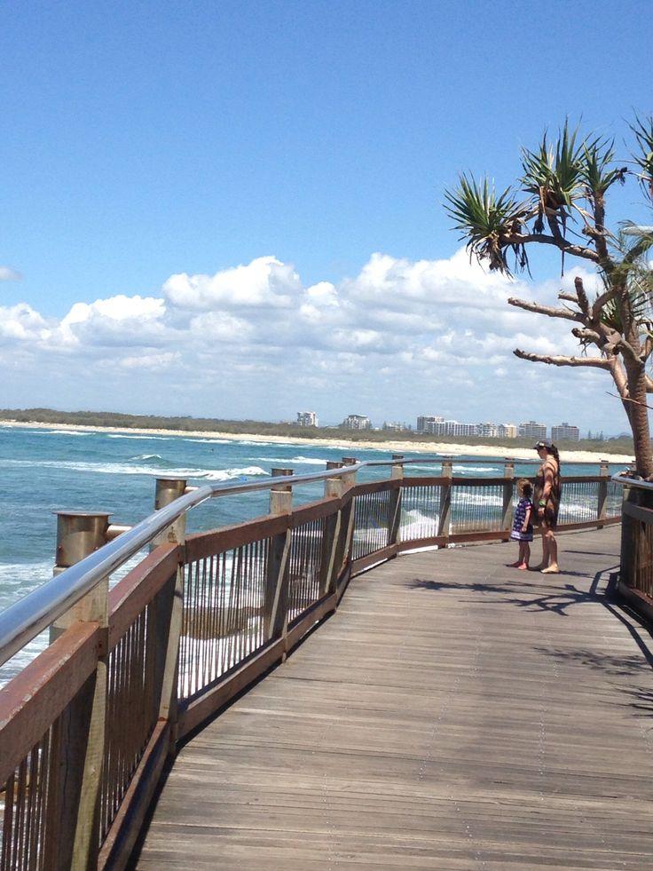 Boardwalk at Caloundra