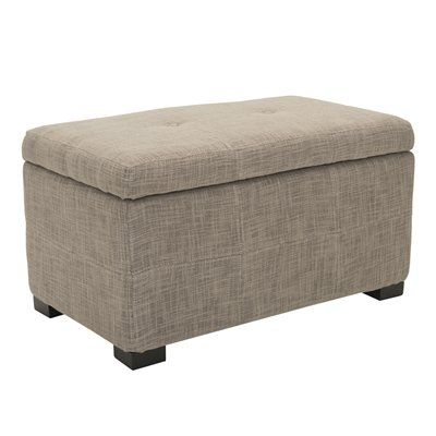 Safavieh HUD8230 Maiden Small Tufted Small Storage Bench