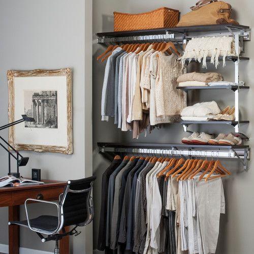 Orginnovations Inc Arrange a Space Closet Shelving System