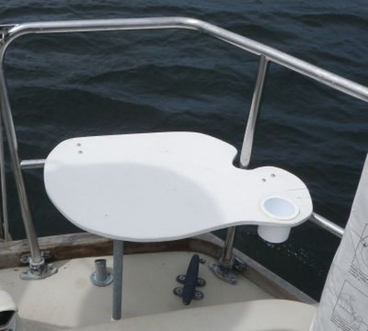 Build a Sailboat Stern Rail Seat: Build your own stern rail seat from Starboard