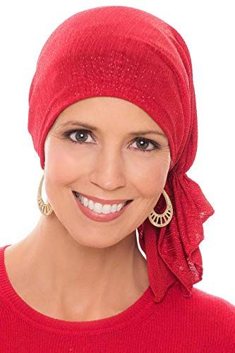 Beautiful Slip-On Slinky-Caps for Women with Chemo Cancer Hair Loss ... de90ad6d7444