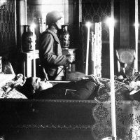 Body of Chancellor Engelbert Dollfuss Lying in State- Dollfuss was himself an authoritarian fascist who originally studied in a seminary before deciding to study law and economics. He was also a staunch nationalist who believed in Austria remaining independent rather than allowing his nation to be incorporated into Germany.