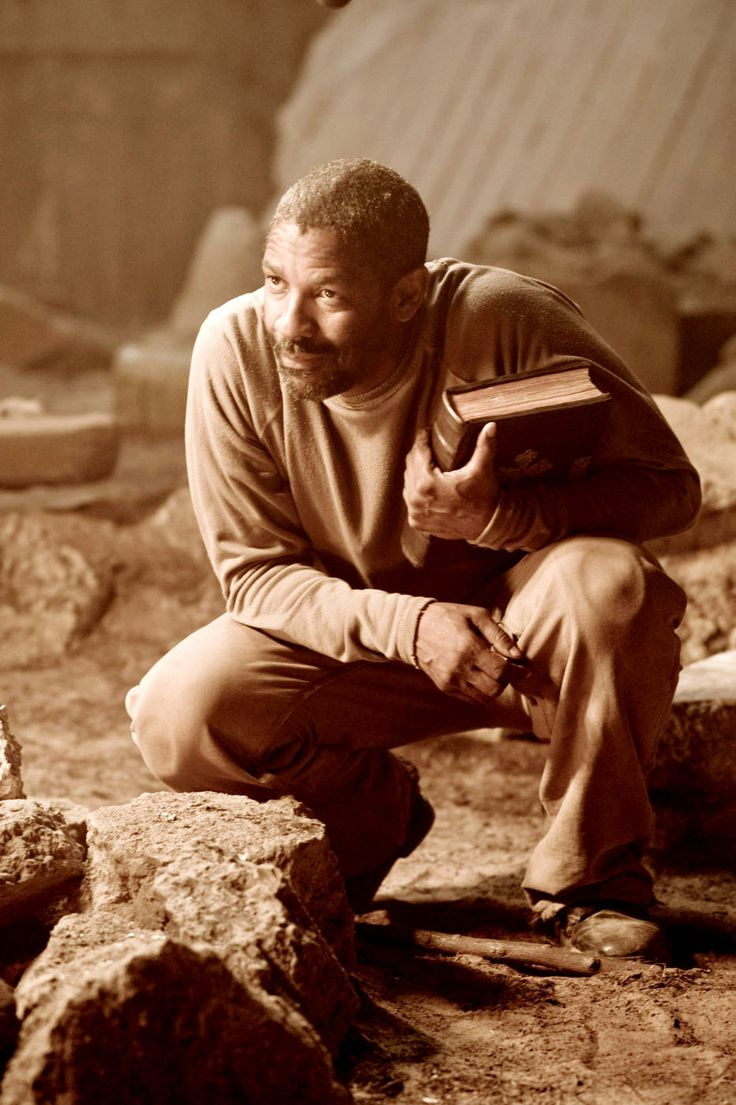 Denzel Washington in The Book of Eli