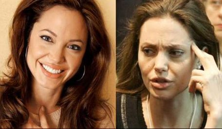 angelina jolie no makeup | Η Angelina Jolie χωρίς make up