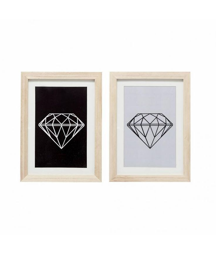 Bilderrahmen set diamond dekoration zum verlieben for Pinterest bilderrahmen