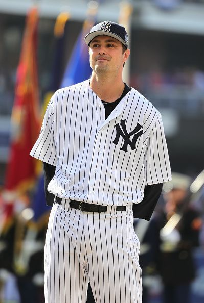 #Allstar2016 Andrew Miller of the New York Yankees looks on prior to the 87th Annual MLB AllStar Game at PETCO Park on July 12 2016 in San Diego California