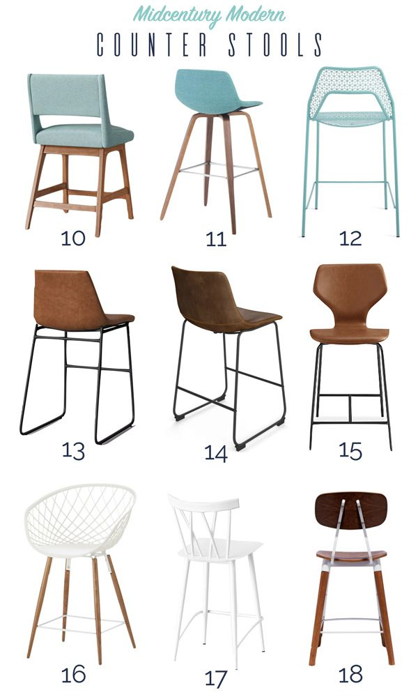 Where To Shop Modern Counter Stools Modern Counter Stools Leather Counter Stools Counter Stools