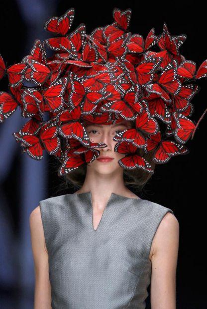 Schmetterlingskunst aus der Spring&Summer-Kollektion von 2008