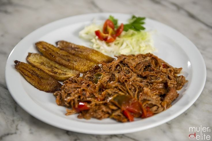 Very popular typically cuban meat based dish, Ropa Vieja (shredded beef).